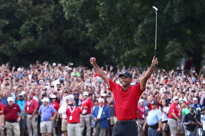 Ævisaga Tiger Woods er væntanleg