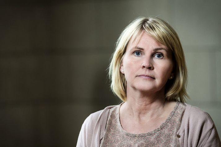 Steinunn Kristjánsdóttir prófessor í fornleifafræði.