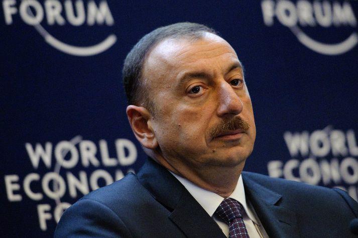 Forseti Aserbajdsjans, Ilham Alijev.