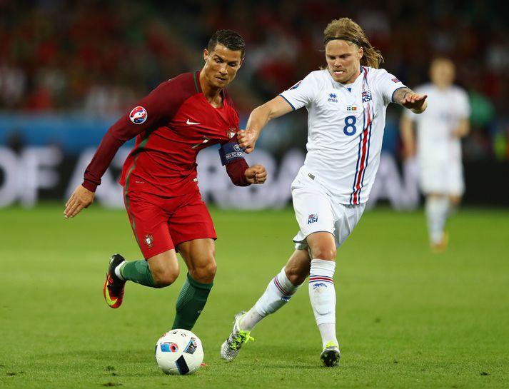 EM 2016 hófst ekki eins og Portúgalar ætluðu sér en á endanum stóðu Cristiano Ronaldo og félagar uppi sem sigurvegarar.