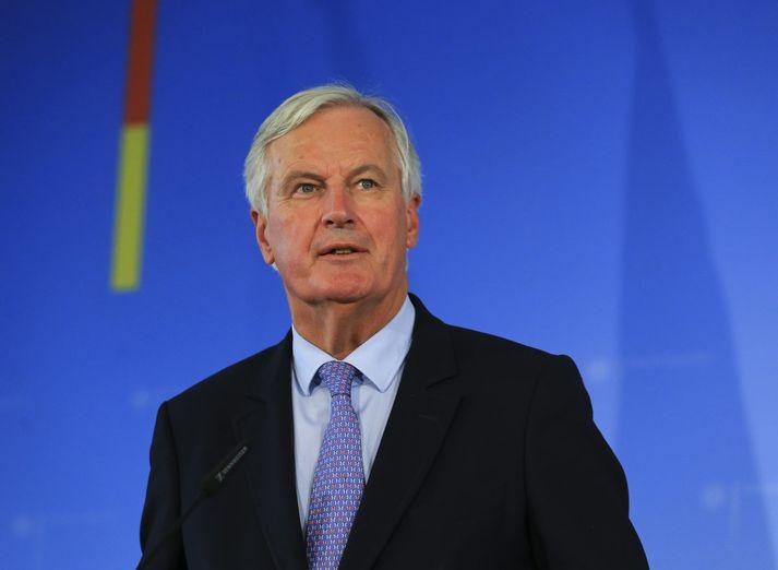 Michel Barnier er orðinn þreyttur á Johnson.