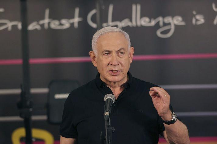 Benamjin Netanjahú, forsætisráðherra Ísraels.