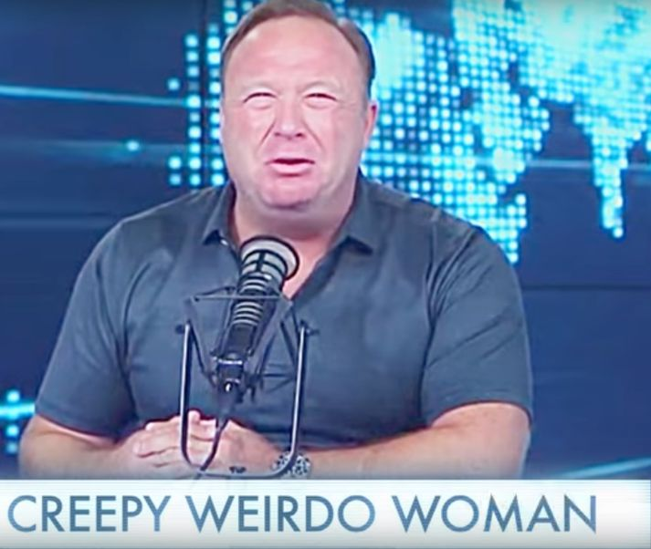 Alex Jones lætur gamminn geysa á Infowars.