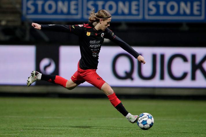 Excelsior v MVV Maastricht - Dutch Keuken Kampioen Divisie ROTTERDAM, NETHERLANDS - OCTOBER 16: Elias Mar Omarsson of Excelsior during the Dutch Keuken Kampioen Divisie match between Excelsior v MVV Maastricht at the Van Donge & De Roo Stadium on October 16, 2020 in Rotterdam Netherlands (Photo by Pim Waslander/Soccrates/Getty Images)