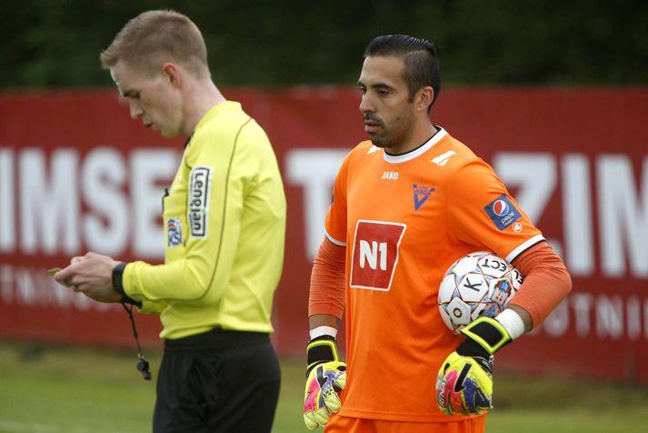 Cristian Martínez var maður leiksins í dag. Hann kom til KA frá Víkingi Ólafsvík fyrir tímabilið