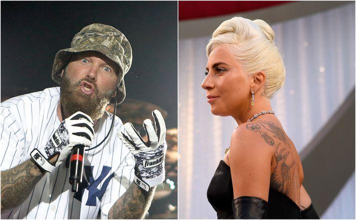 Þungarokkarinn Fred Durst stendur fyrir vikulegum djasskvöldum í Hollywood og mætti Lady Gaga síðastliðið fimmtudagskvöld.
