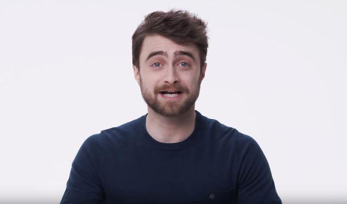Daniel Radcliffe í skemmtilegu innslagi.