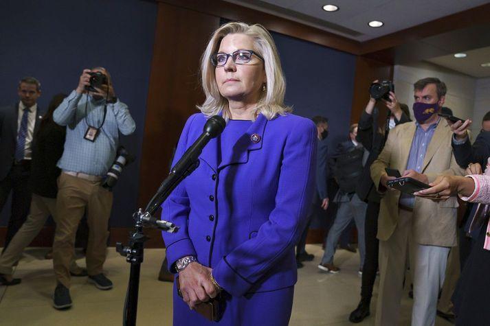 Liz Cheney, eftir atkvæðagreiðsluna.
