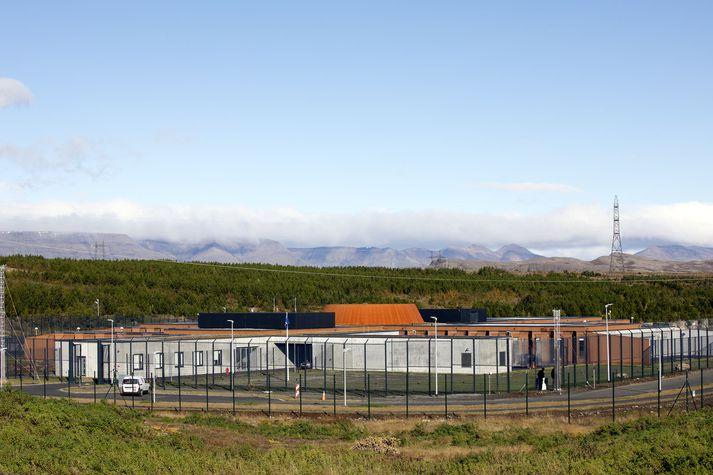 Fangelsið á Hólmsheiði þar sem Sigurður hefur dvalið undanfarnar tólf vikur.