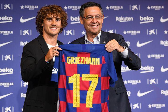 Griezmann mun vera númer 17 hjá Barca