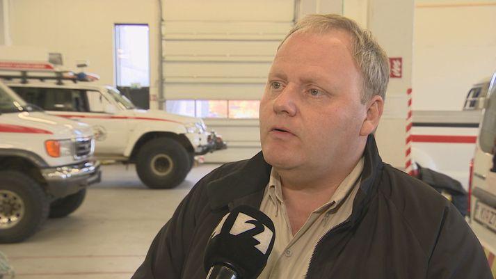 Dagbjartur Brynjarsson, samskiptastjóri hjá NetHope á Íslandi