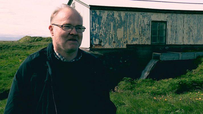 Lýður Pálsson, safnstjóri Byggðasafns Árnesinga.