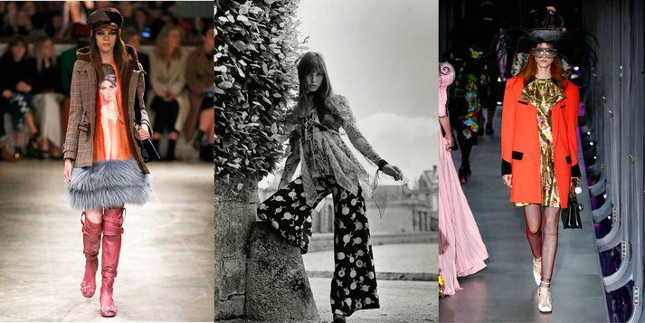 Prada, Jane Birkin árið 1969, Gucci