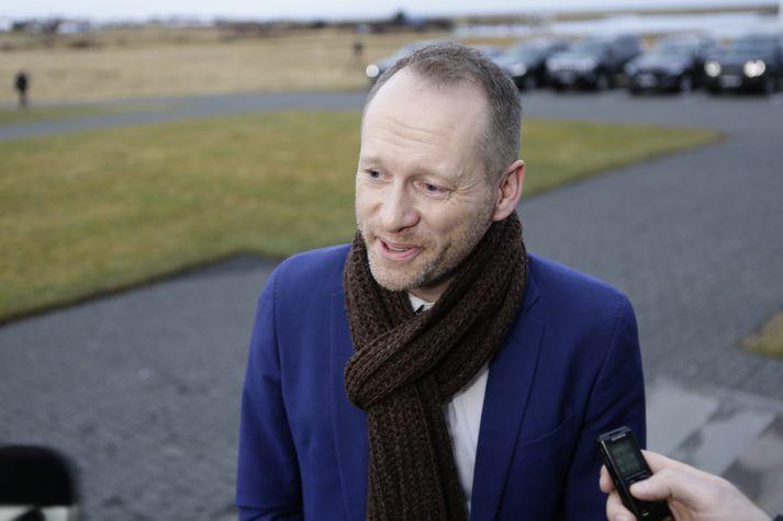 Guðmundur Ingi Guðbrandsson er fertugur og hefur undanfarin ár gegnt starfi framkvæmdastjóra Landverndar.