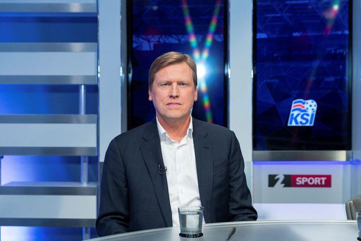 Geir Þorsteinsson er nýtekinn við sem framkvæmdastjóri ÍA.