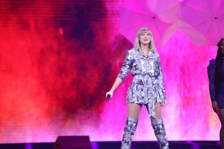 Taylor Swift er ein allra vinsælasta söngkona heims.