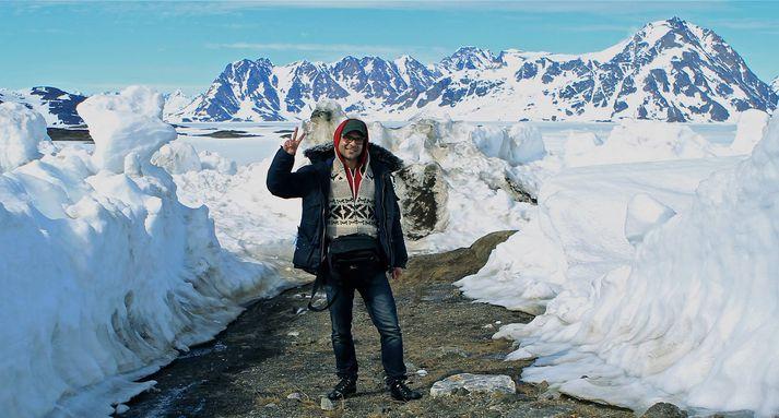 Ingólfur Abrahim Shahin hefur efnast vel hjá Guide to Iceland.