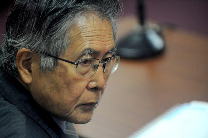 Fujimori hefur átt við heilsubrest að stríða síðustu árin. Hann er nú 79 ára gamall.