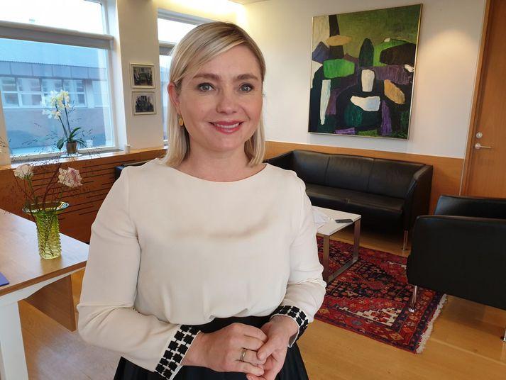 Lilja Dögg Alfreðsdóttir menntamálaráðherra.