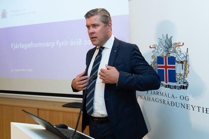 Bjarni Benediktsson, fjármálaráðherra.
