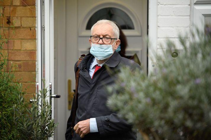 Jeremy Corbyn var leiðtogi breska Verkamannaflokksins á árunum 2015 til 2019.