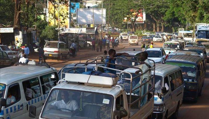 Götumynd frá Kampala