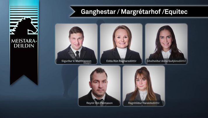Lið Ganghesta/Margrétarhofs/Equitec.
