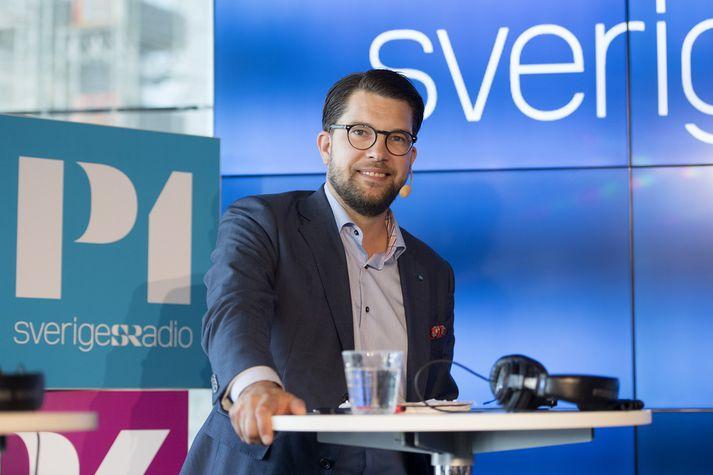 Jimmie Åkesson hefur verið formaður Svíþjóðardemókrata frá árinu 2005.