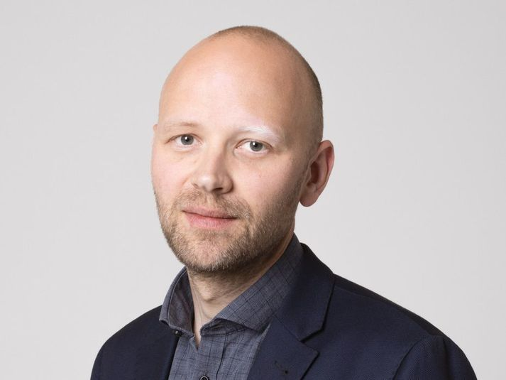 Magnús Davíð Norðdahl lögmaður og oddviti Pírata í Norðvesturkjördæmi.