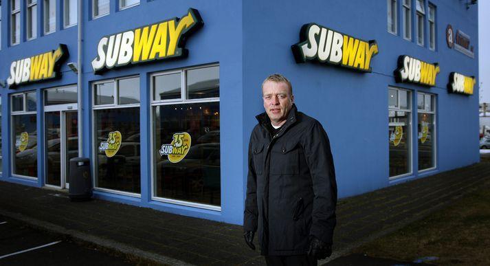 Skúli Gunnar Sigfússon stofnaði Subway hér á landi.