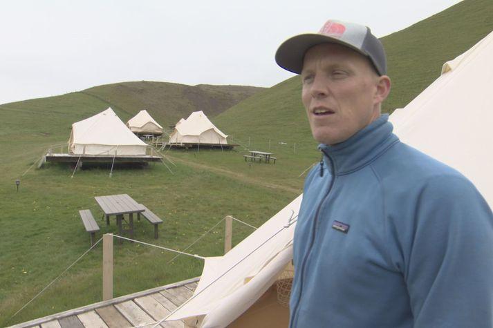 Arnar Felix Einarsson, ferðaþjónustubóndi á Skeiðflöt.