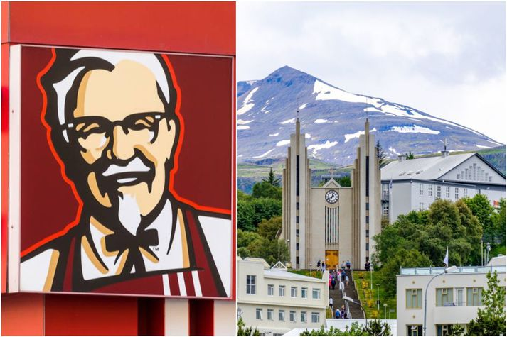 Velta KFC á Íslandi nam tæplega 3,4 milljörðum króna árið 2019. Keðjan rekur nú átta staði hér á landi.