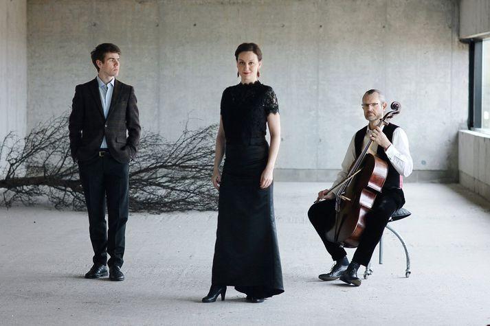 Halldór Bjarki, Sigríður Ósk og Sigurður Halldórs eru í hinum fasta kjarna Symphonia Angelica.