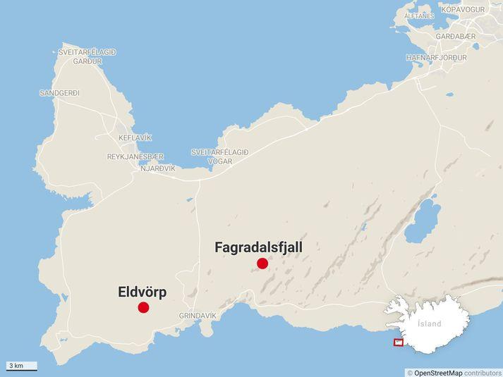 Trzęsienie o sile 4,6 stopnia miało epicentrum w okololicyEldvörp.
