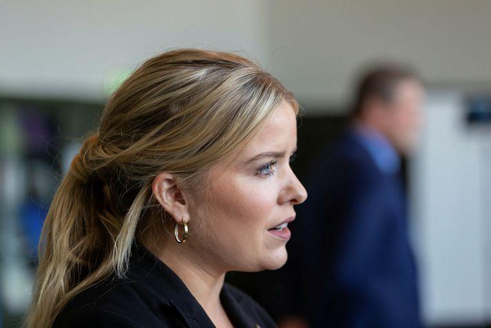 Áslaug Arna Sigurbjörnsdóttir er dómsmálaráðherra.