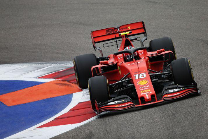 Leclerc hefur alls sex sinnum hrósað sigri í tímatökunni á tímabilinu.