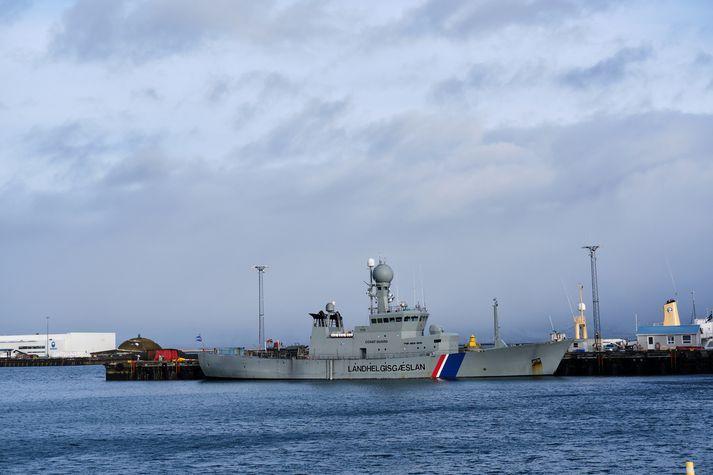 Varðskipið Týr var smíðað 1975.