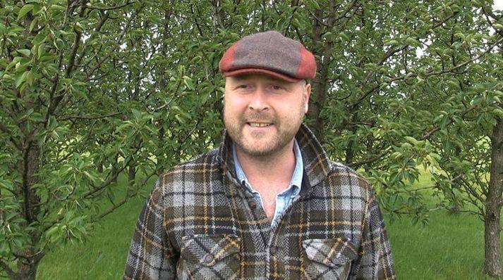 Anton Kári Halldórsson formaður samstarfsnefndar og sveitarstjóri Rangárþings eystra.
