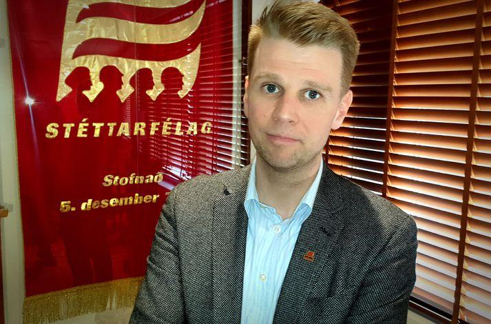 Viðar Þorsteinsson framkvæmdastjóri Eflingar segir Eflingu ítrekað hafa rétt fram sáttarhönd í deilunni.
