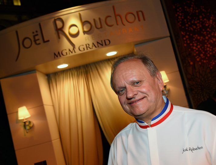 Michelin meistarinn Joel Robuchon