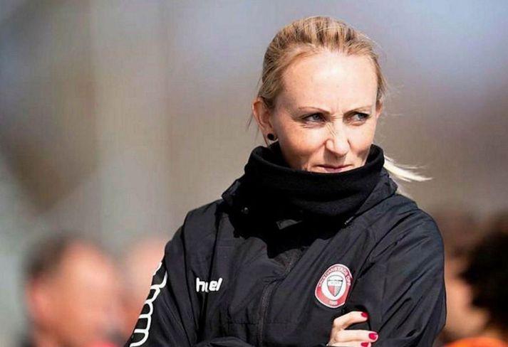 Elísabet er nú komin með UEFA Pro þjálfararéttindi.
