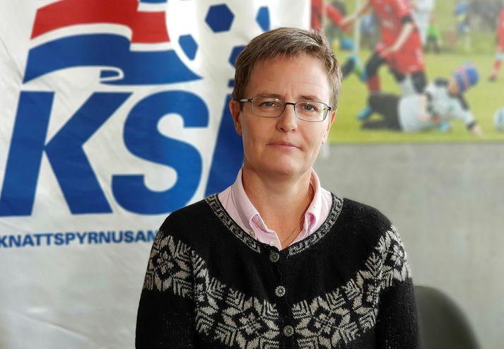 Klara Bjartmarz er framkvæmdastjóri KSÍ.