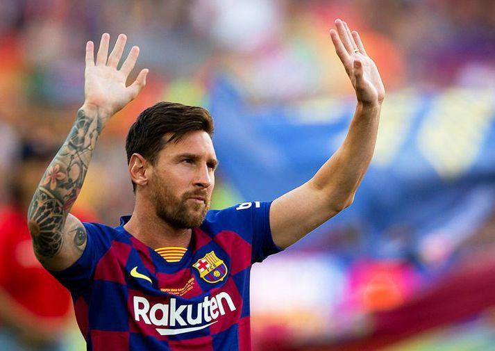 Það er mikið verðmæti í nafni Lionel Messi og Manchester mun örugglega nýta sér það.