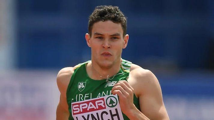 Craig Lynch 400 metra hlaupari.