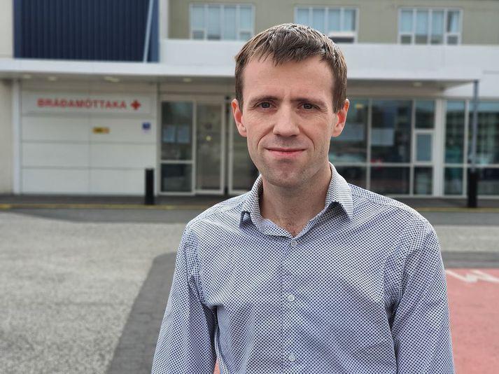 Martin Ingi Sigurðsson, yfirlæknir í svæfinga- og gjörgæslulækningum.