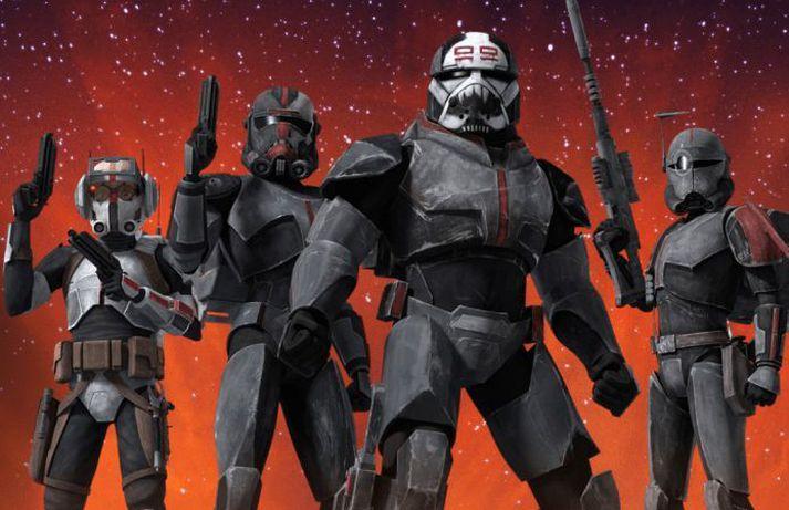 The Bad Batch úr Clone Wars.