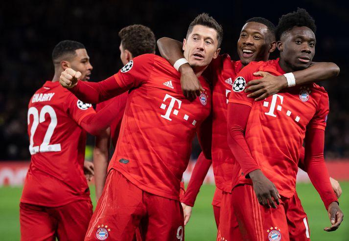 Bayern hafa skorað 10 mörk í Lundúnum í vetur. Í aðeins tveimur leikjum.