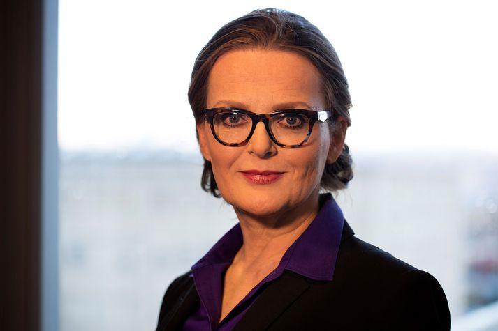 María Heimisdóttir tekur við embætti forstjóra Sjúkratrygginga Íslands þann 31. október næstkomandi.