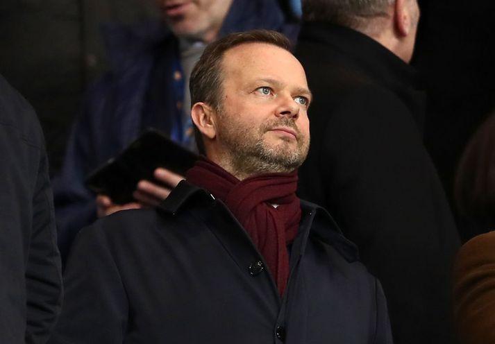 Ed Woodward hefur ekki átt sjö daganna sæla í sæti sínu sem stjórnarformaður United að undanförnu. Margir stuðningsmenn eru ósáttir með hann og sumir meira en aðrir.