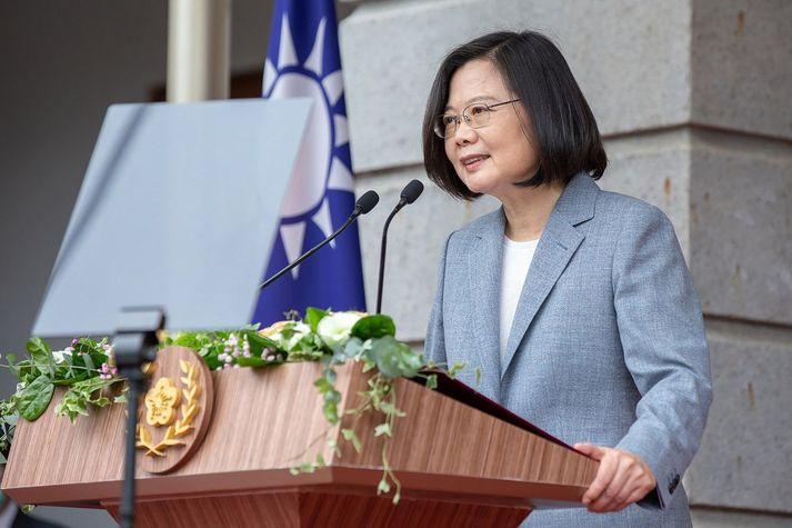 Tsai Ing-wen, forseti Taívan.